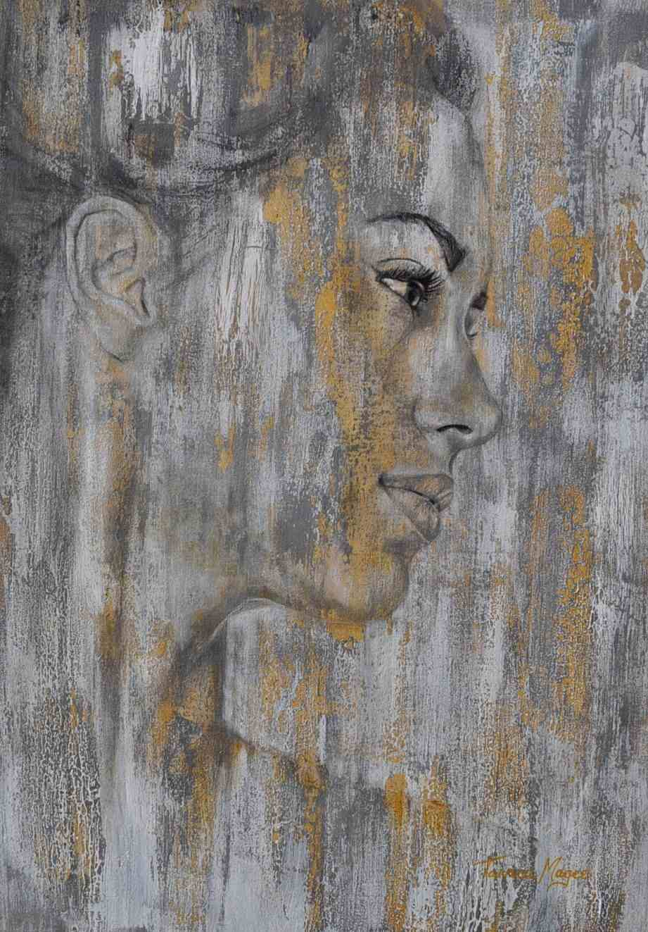 CONTEMPORARY WORK (portraits) - Strength, SOLD