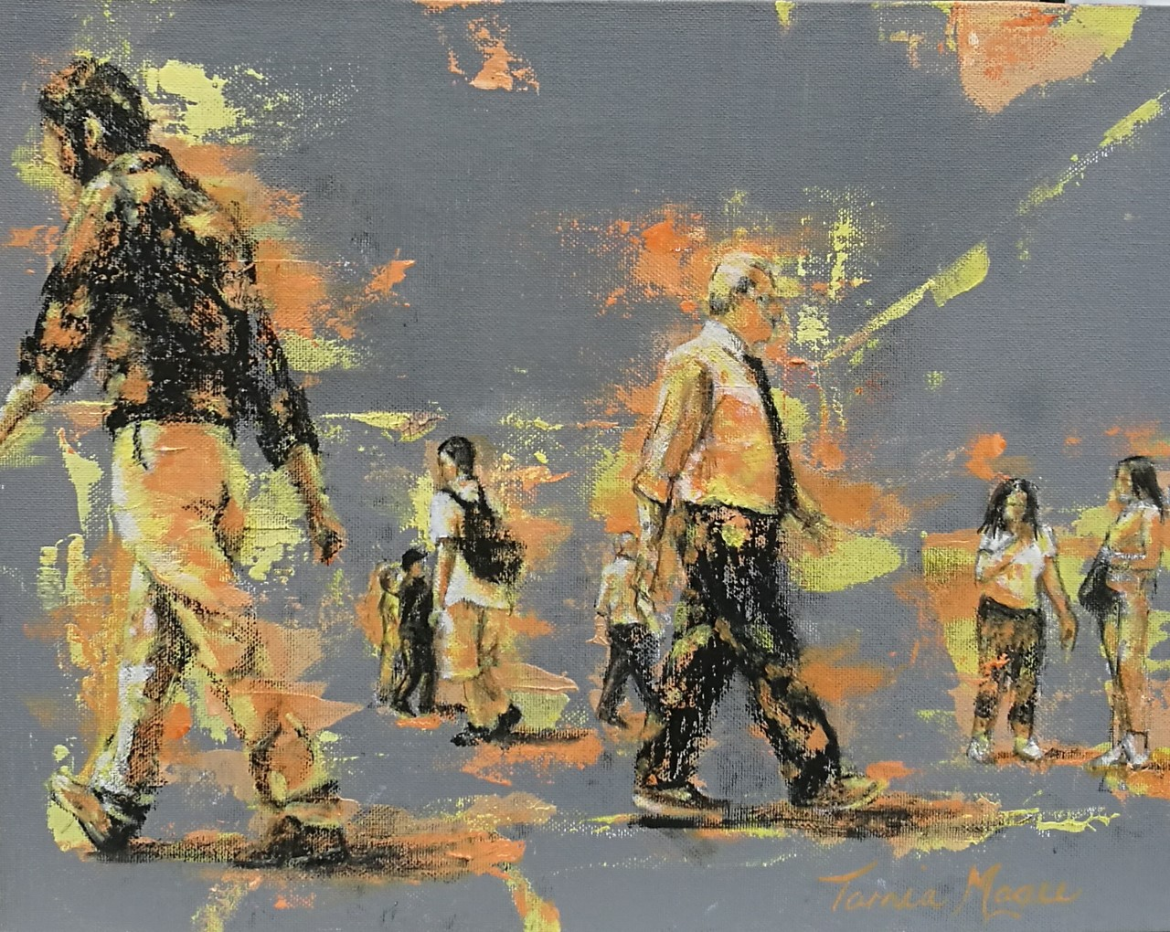 CONTEMPORARY WORK (figurative) Transient 2