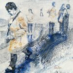 CONTEMPORARY WORK (figurative) - Commuters No.2