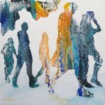 CONTEMPORARY WORK (figurative) - Commuters No.4