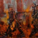 CONTEMPORARY WORK (figurative) - Commuters No.5, SOLD