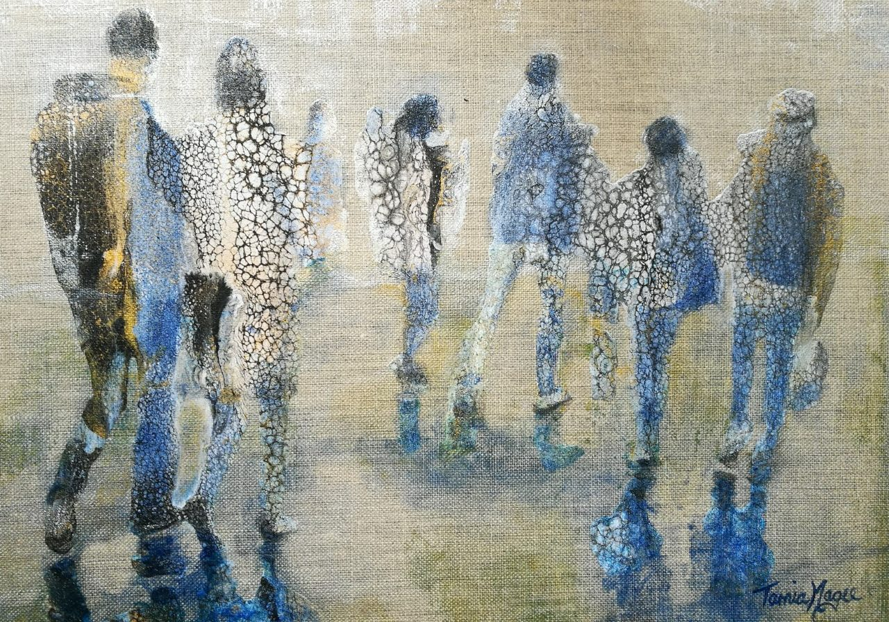 Commuters No.3, SOLD - figurative